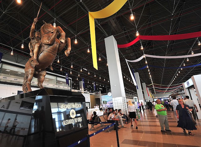 Skopje's 'Alexander the Great' Airport Awarded for Best European Airport in 2015