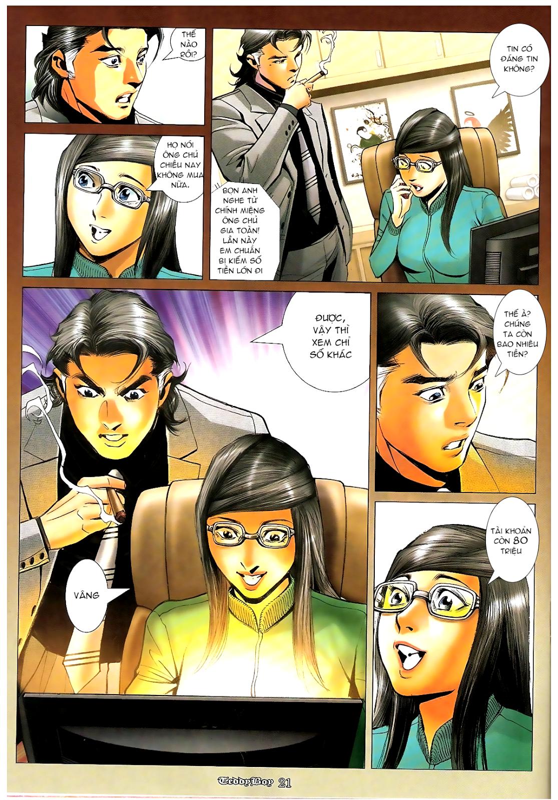 Người Trong Giang Hồ - Chapter 1194: Ác mộng Bố Già - Pic 17