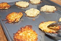 Low Carb - Oven-Fried Potato Latkes