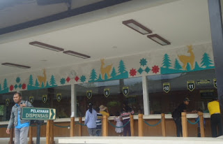 Loket Pembelian Tiket Masuk Candi Borobudur