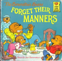 Manners for children, books on manners for children