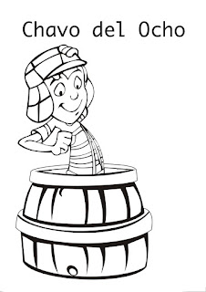 Chavo del ocho coloring pages | Coloring pages chavo