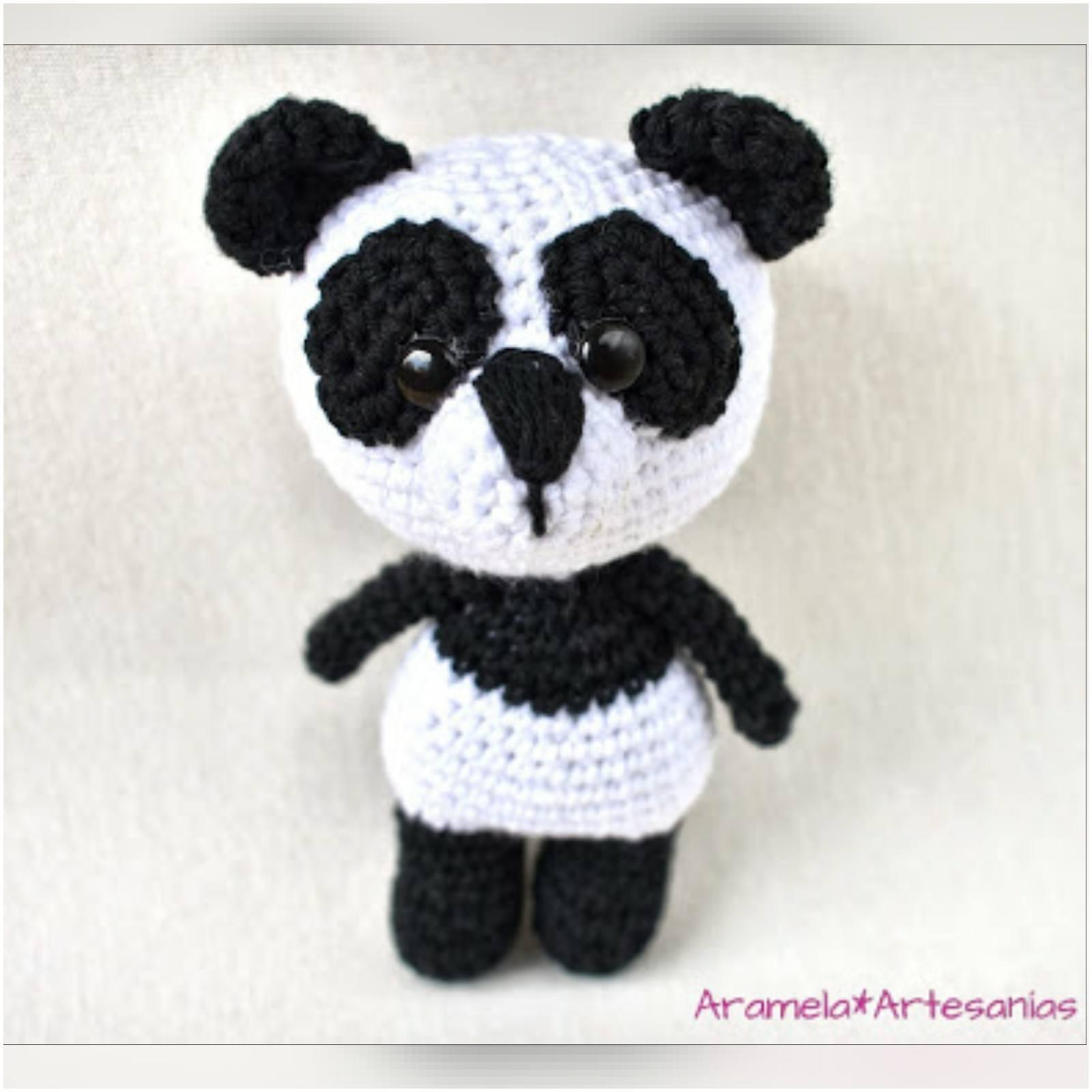 Amigurumislandia: Oso panda