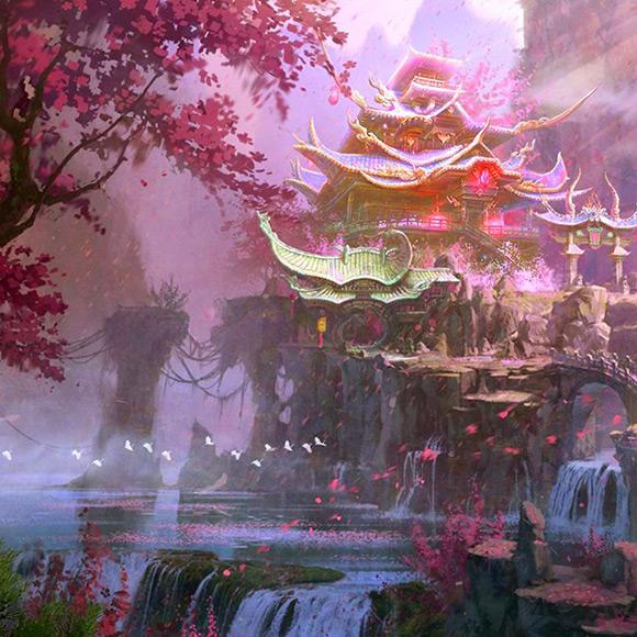 Para Para Sakura Wallpaper Engine