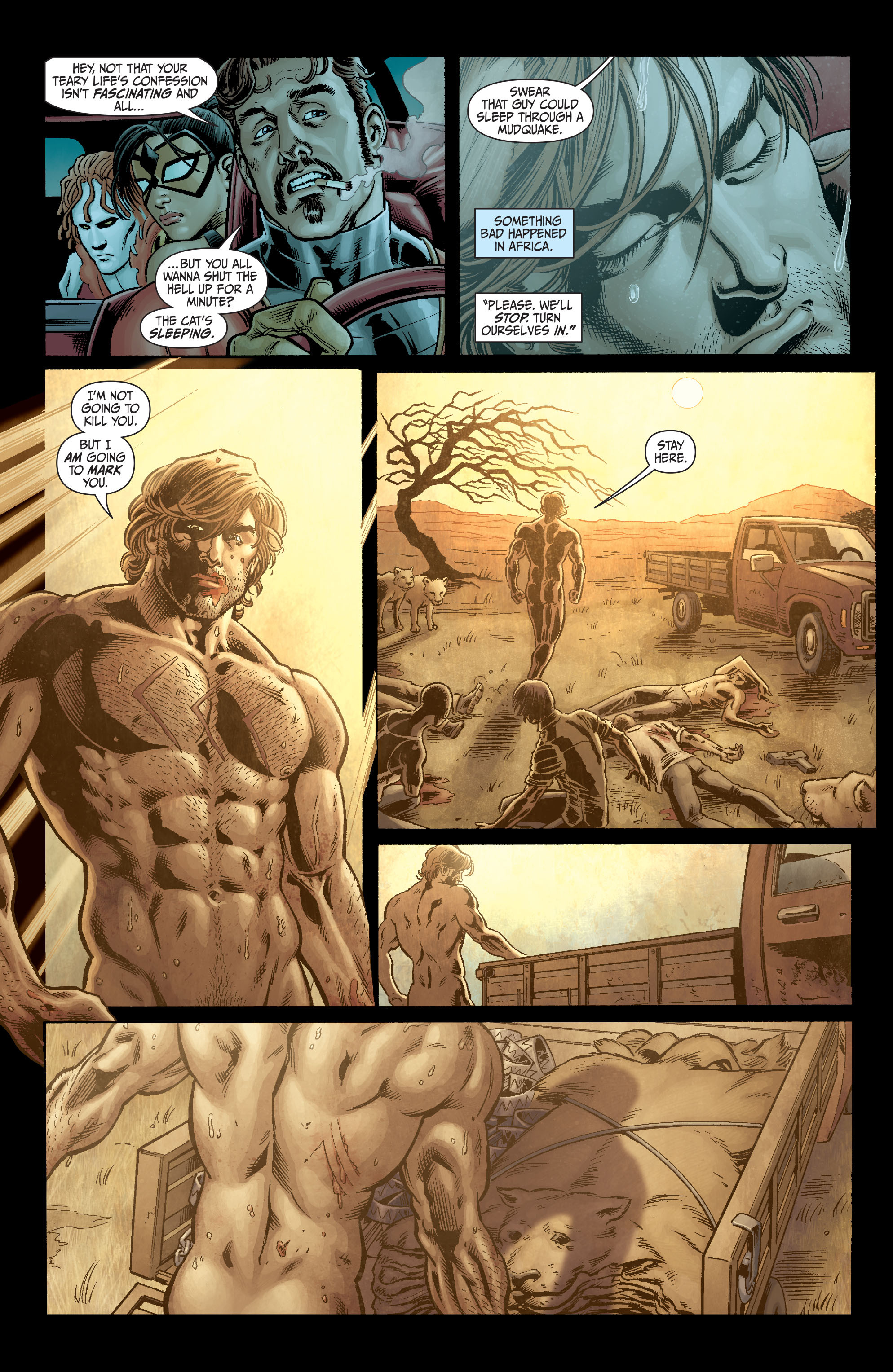 Read online Secret Six (2008) comic -  Issue #3 - 10