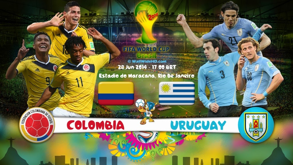 Colombia Uruguay: Apna TV Zone: FIFA World Cup 2014 Watch