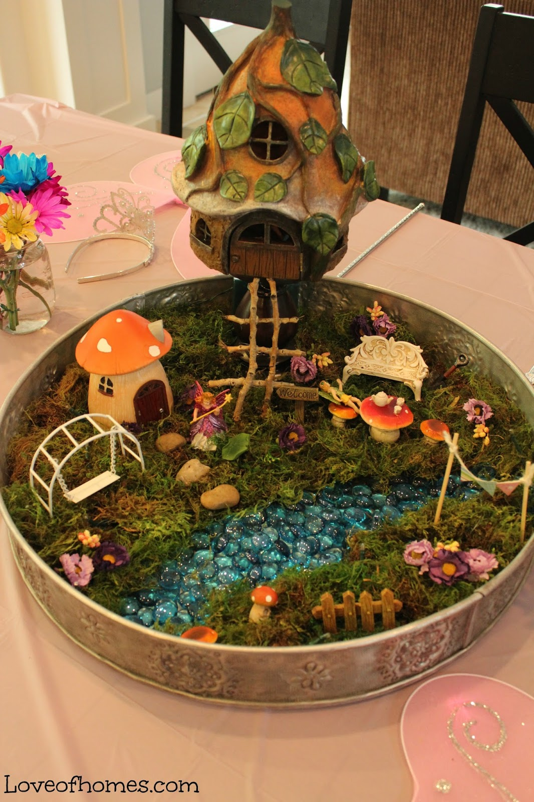LOVE OF HOMES: Fairy Garden Party