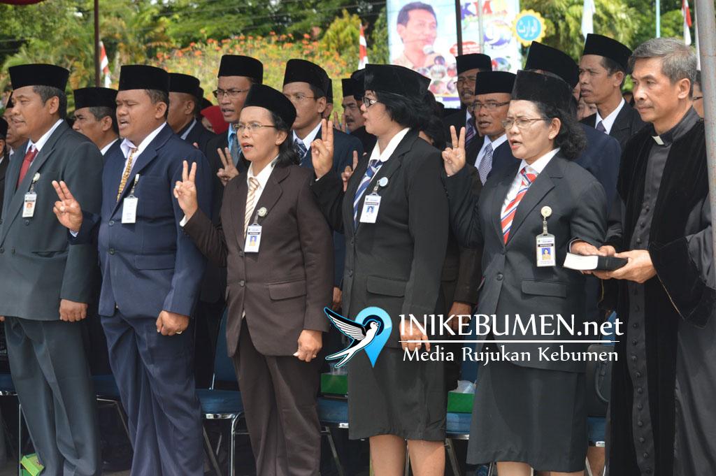 Kabar Gembira! Sempat Dibatalkan, 101 PNS Kebumen Segera Dilantik jadi Pejabat