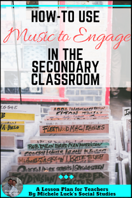 Using music in the middle or high school classroom can help students engage in content and retain that content for later recall. Here are how-to tips and ideas for reaching those auditory learners.