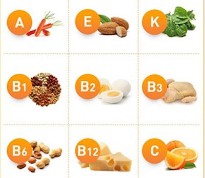 chế độ dinh dưỡng cho bà bầu - vitamin