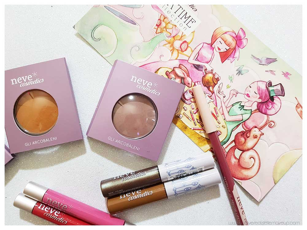 Tea Time Collection prodotti Neve Cosmetics