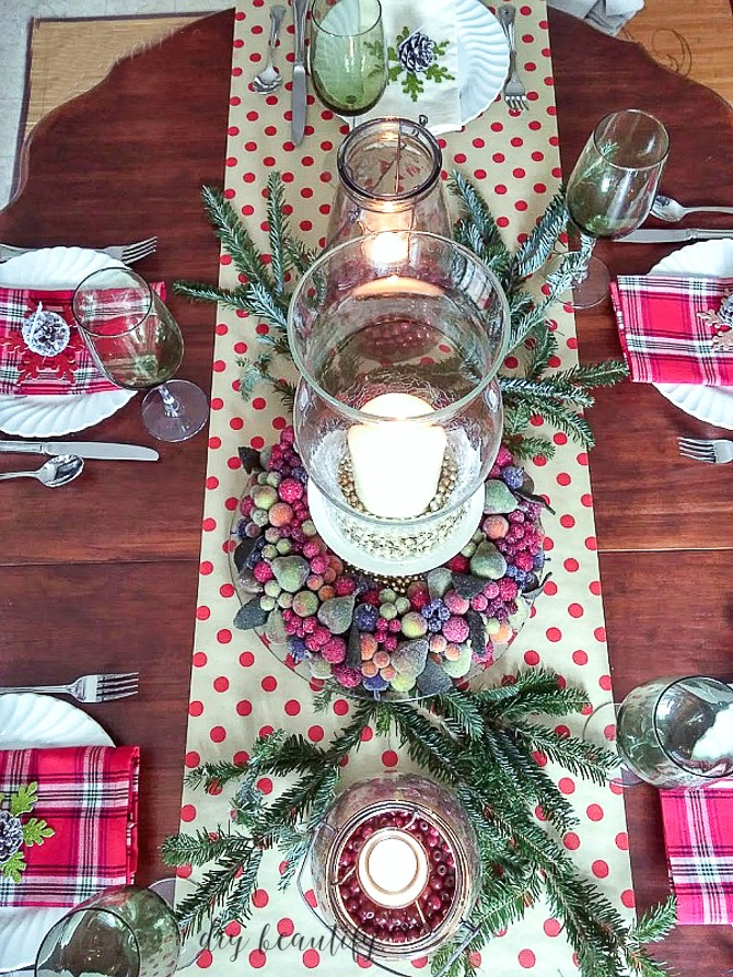 Adding plaid to your home decor is s great way to warm up your home during the winter months. Let me inspire you as I share several ways I'm decorating with plaid in my home. Read more at diy beautify!