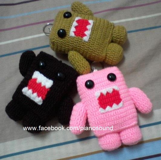 Amigurumipianosound Crochet Blog: Free Amigurumi Crochet DOMO Pattern