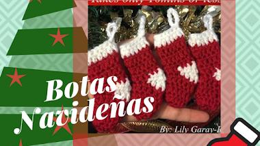 Botas de Navidad - DIY