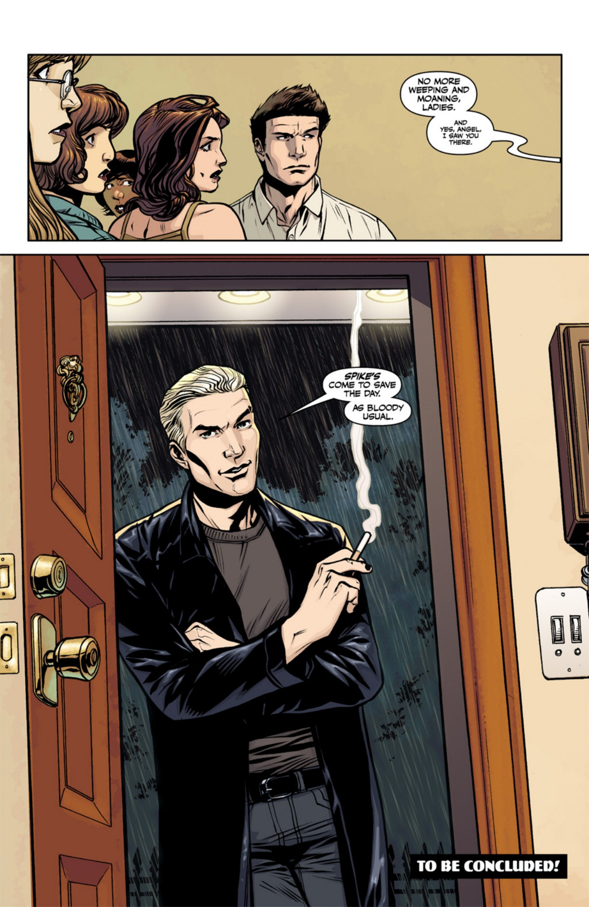 Read online Angel and Faith comic -  Issue #18 - 26