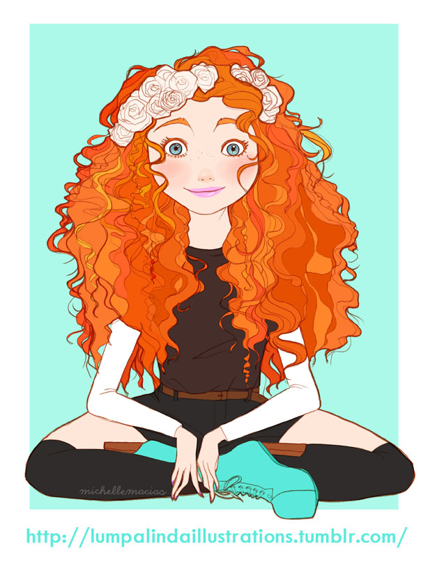 Cute Hipster Tumblr Drawings Disney Princess