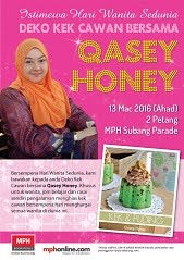 QASEY HONEY DI MPH SUBANG PARADE 13 MAC 2016