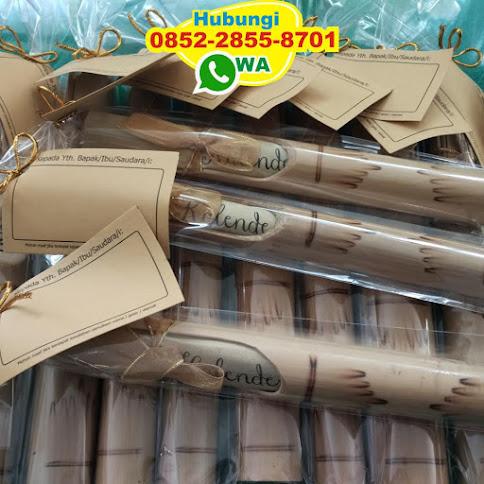 harga undangan bambu separo 53172