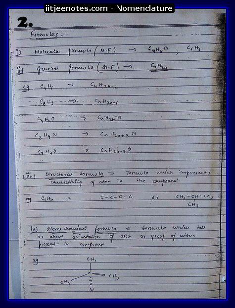 Nomenclature2