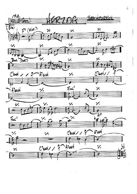 Partitura Violonchelo Bobby Hutcherson
