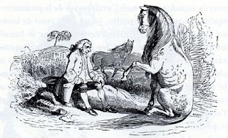 Resultado de imagen de gulliver con los caballos