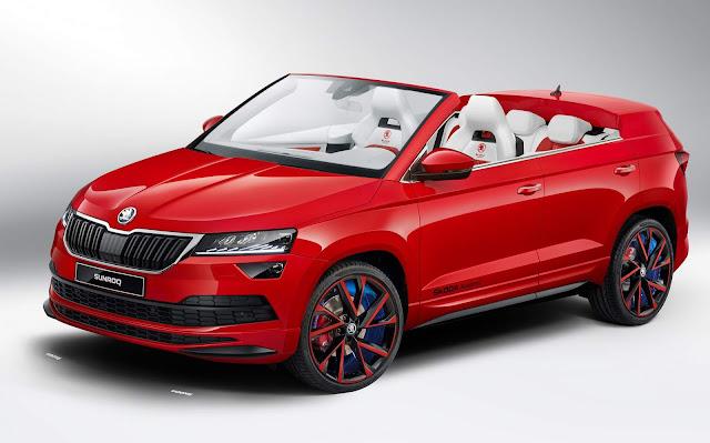 Skoda apresenta o Sunroq: conceito de SUV conversível