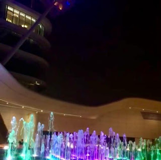 THE COLOR OF FOUNTAIN VARIES IN ACCORDANCE WITH THE ROOF TOP OF VICEROY.