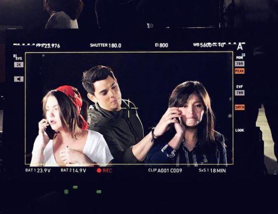 SNEAK PEEK: Angel Locsin, Richard Gutierrez And Angelica Panganiban's Look Test And First Day Of Shooting!