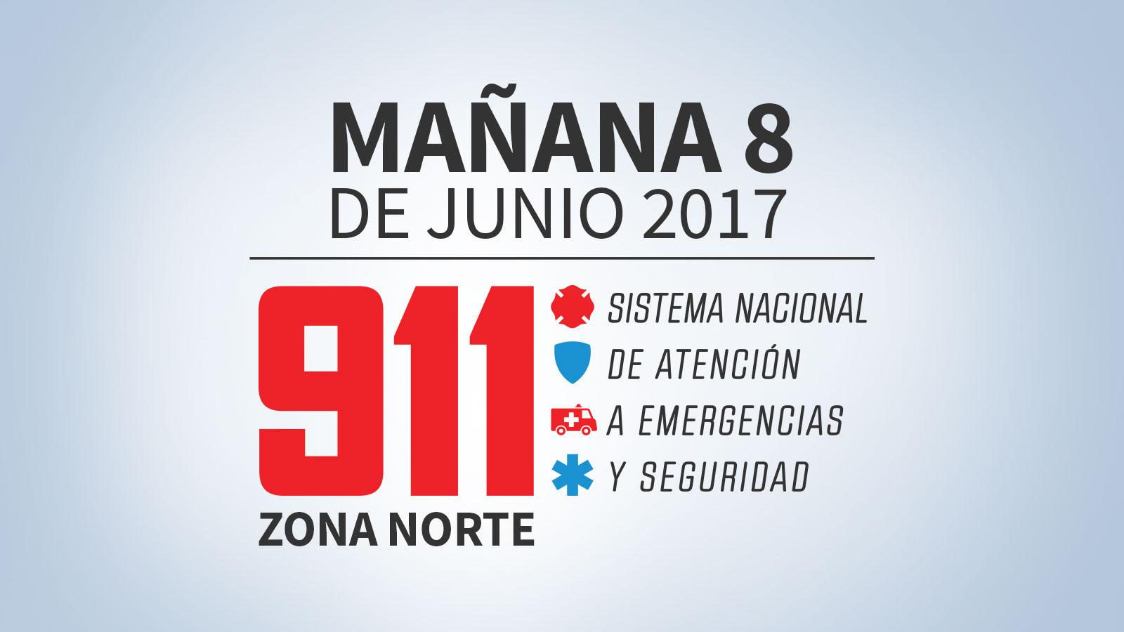 VIDEO: 911 Zona norte