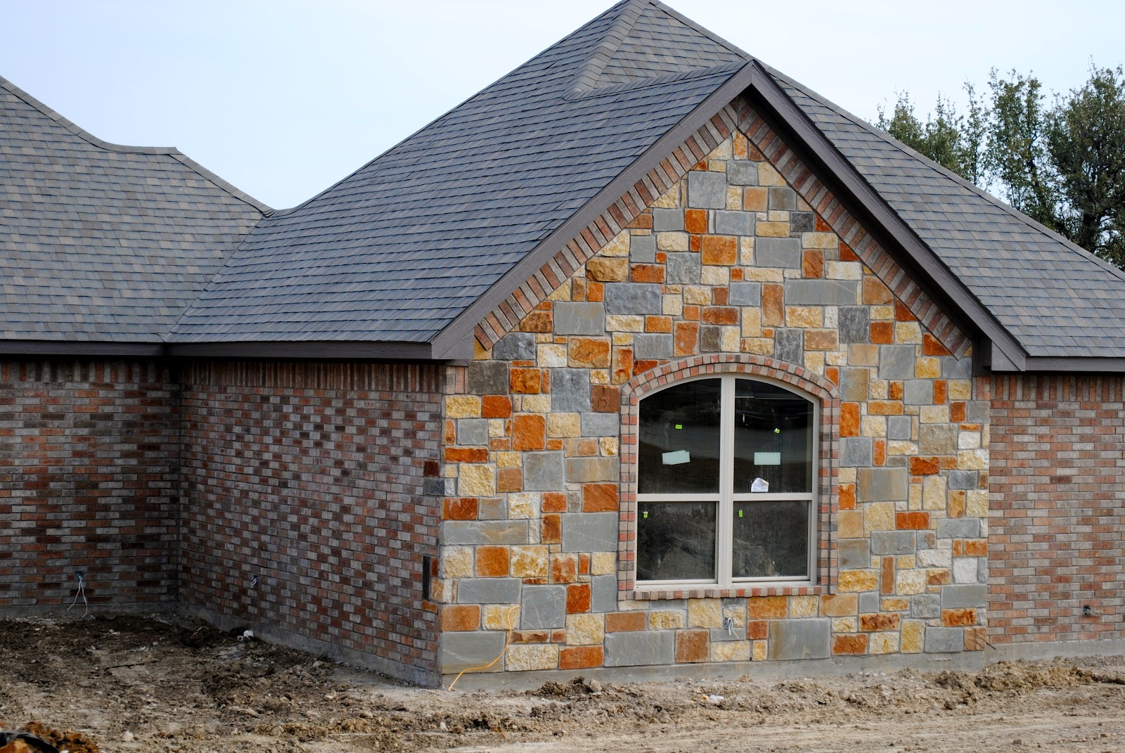 Brick And Stone Exterior Combinations Trinity Classic Homes February 2012