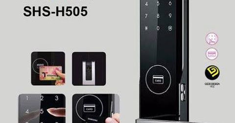 Samsung Smart Doorlock Samsung Smart Doorlock Shs 5050 H505