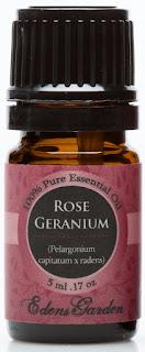 Rose Geranium 100% Pure Therapeutic Grade Essential Oil