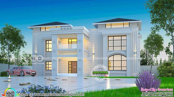 Grand Arabian style home design