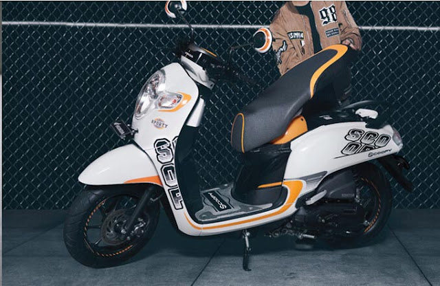 Spesifikasi dan Harga Honda All New Scoopy