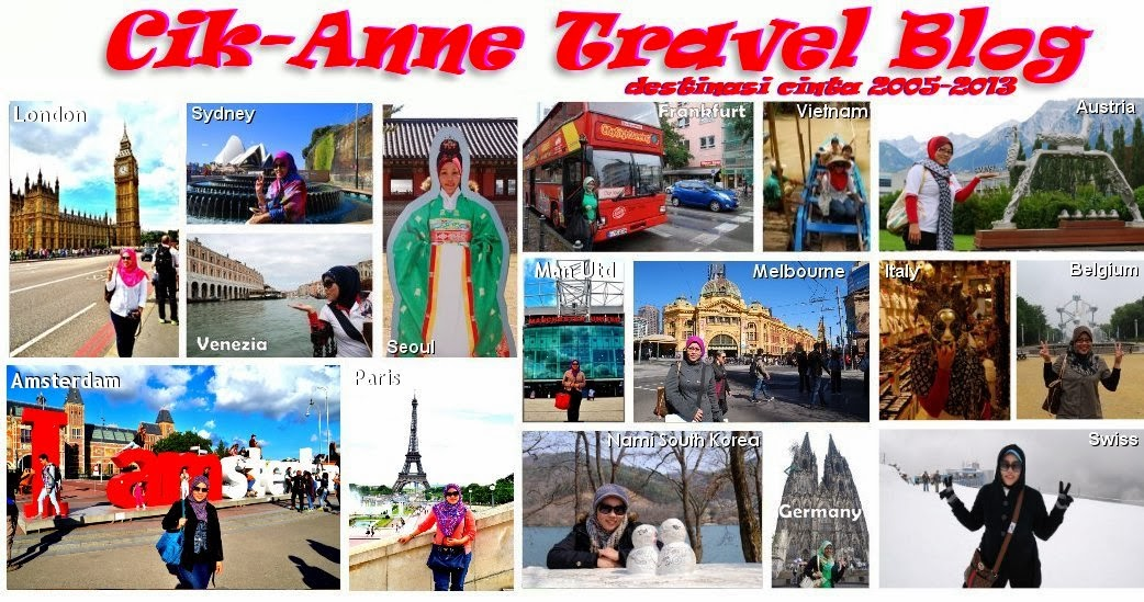 Cik-Anne Travel Blog