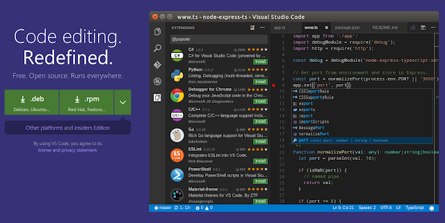 Cara mudah install Visual Studio Code di Ubuntu Linux dengan repository resmi