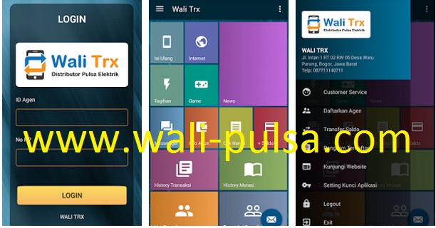 Wali Trx Mobile Aplikasi Android Wali Reload