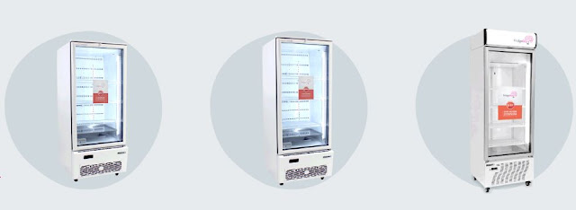 smart fridge store vaccines medical patients iot refrigerators temperature regulated