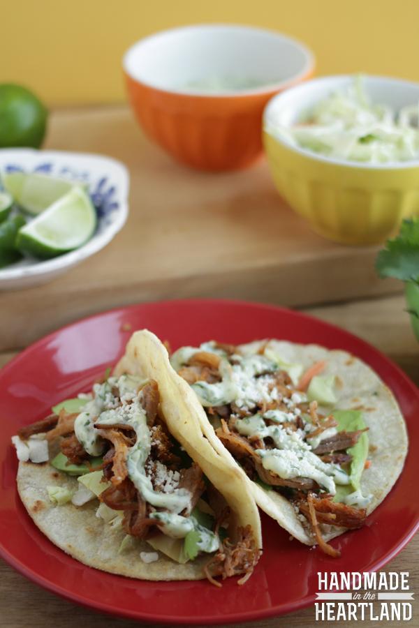 Easy pulled pork taco recipe