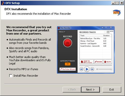 تحسن جودة الصوت على الكمبيوتر بنقرة زر واحدة DFX Audio Enhancer