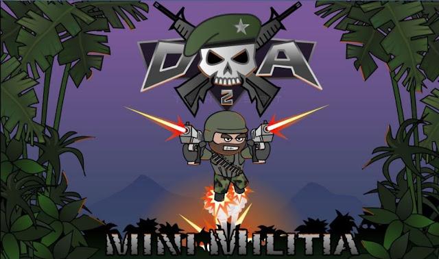 Doodle Army 2 Mini Militia v3.0.136 Mod Apk Terbaru (Pro Pack)