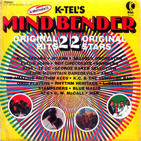 Quot Mind Bender Quot Another Great K Tel Compilation This Month