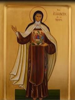 Sainte Élisabeth Trinité scapulaire