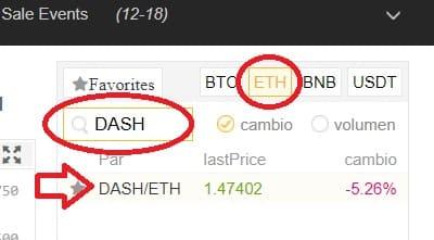 comprar moneda dash binance españa