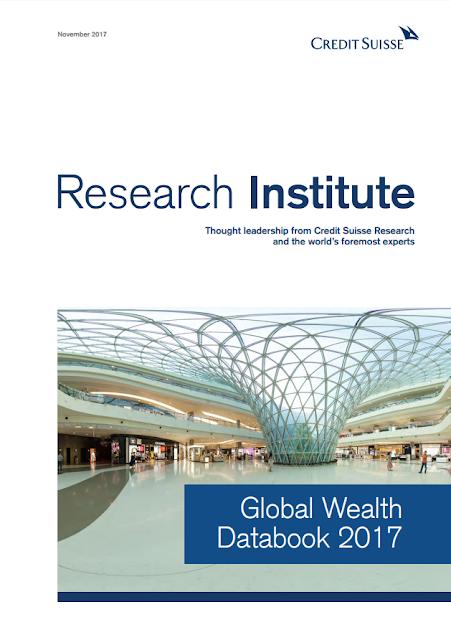 Global Wealth Databook 2017 by Credit Suisse