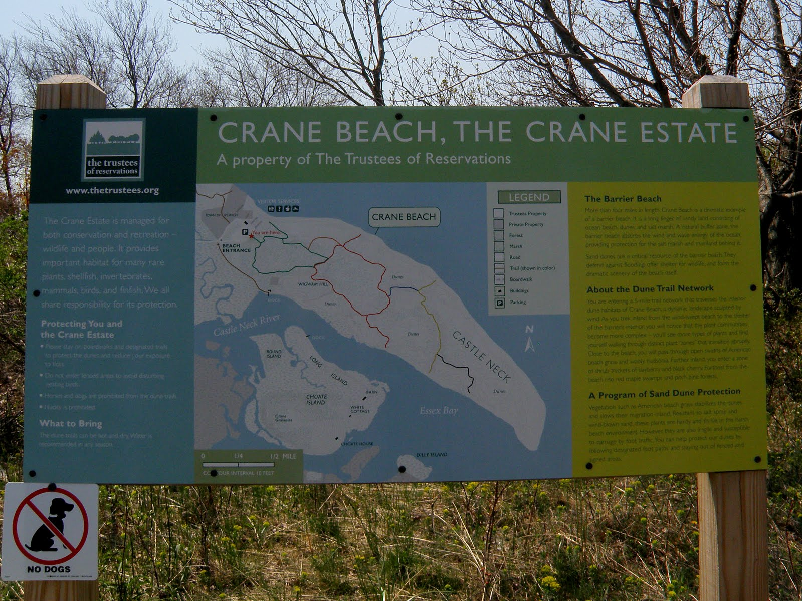 There Are About 5 Miles Of Trails In The Crane Beach Estate They Wind Through Dunes And Protected Wildlife Areas
