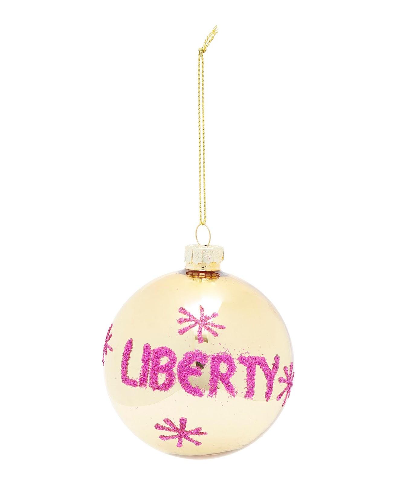 Satchel: Liberty London Christmas Tree Bauble 2017