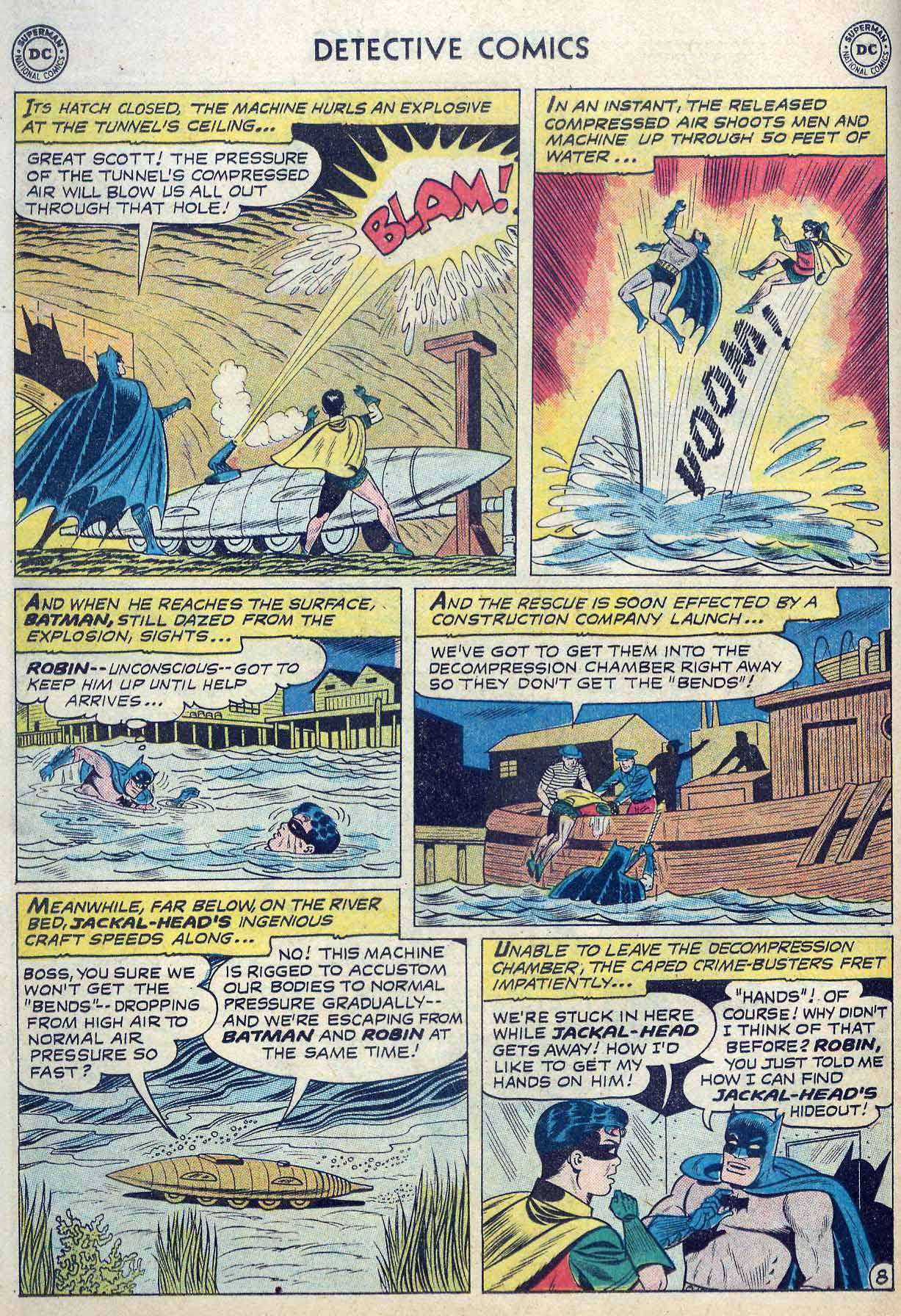 Read online Detective Comics (1937) comic -  Issue #262 - 10