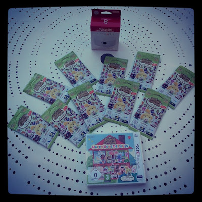 Animal Crossing Happy Home Designer cartes amiibo 3ds