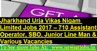 Jharkhand-Urja-Vikas-Nigam-Limited-710-assistant-Jobs